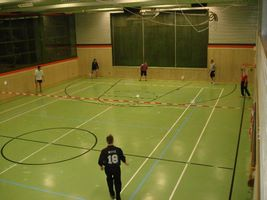 Training in der Illertalhalle
